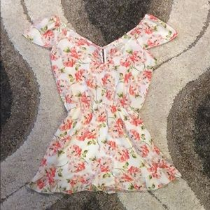 Pins and Needles • floral romper